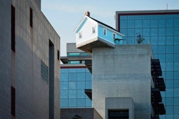 Casa colgada en San Diego