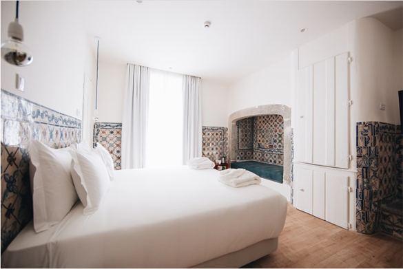 cama doble hotel encanto lisboa