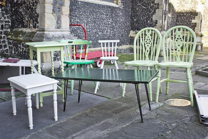 Restaurar muebles en lugar de comprar nuevos