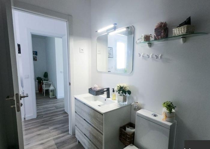Baño de una casa prefabricada