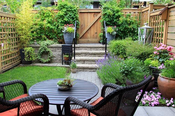 jardin muebles exteriores