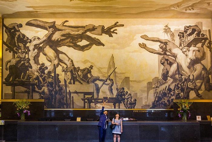 mural art deco