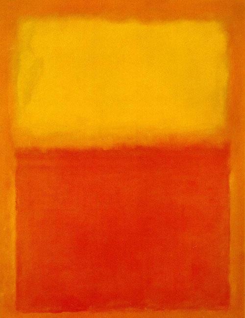obra Rothko expresionismo asbtracto