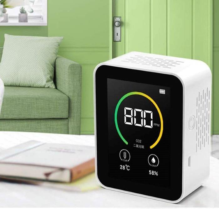 6 medidores y detectores de CO2 para tener limpio el aire de tu hogar
