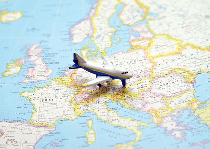 viajes europa pandemia