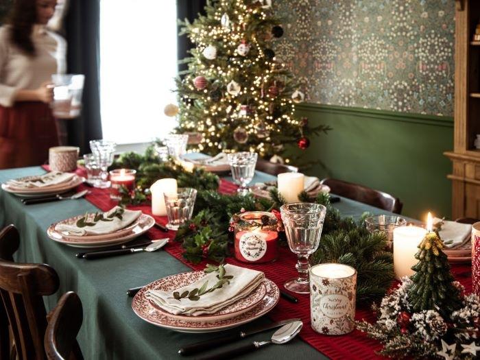 Ideas para la decoración de tu mesa en Navidad