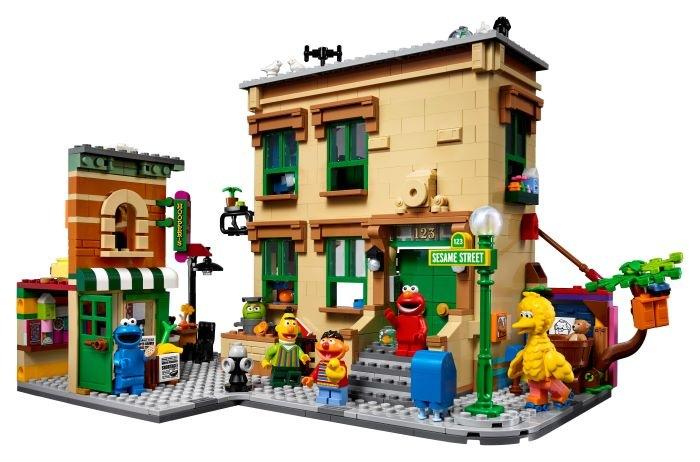 Maqueta-de-Barrio-Sesamo-en-LEGO