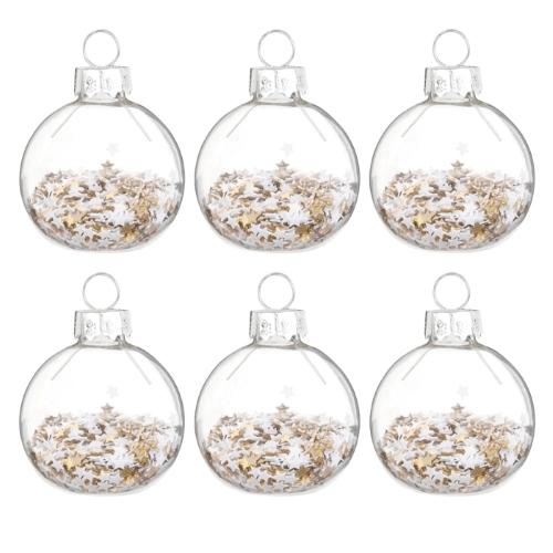 Bolas de Navidad para decorar el árbol de Navidad de Maisons du Monde