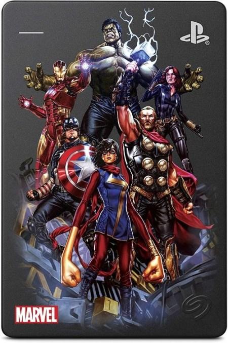 Disco duro Avengers como regalo de Navidad