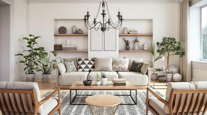 sofa beige salon