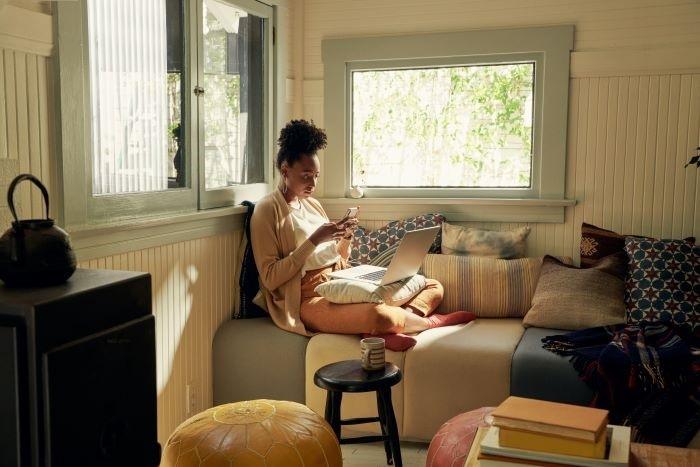 Alojamiento Airbnb para nómadas digitales para una estancia larga