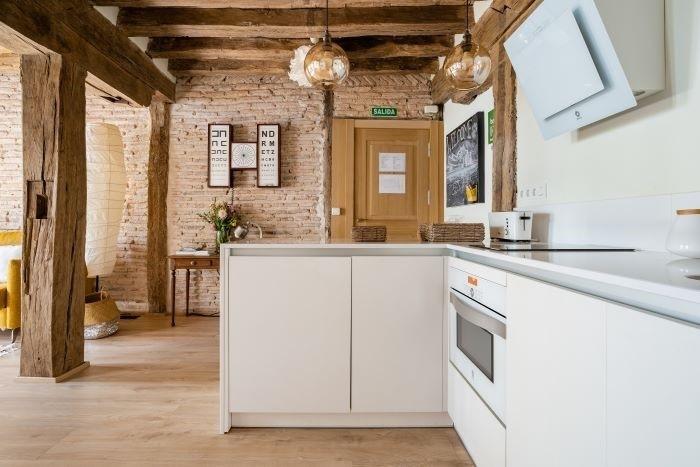 Alojamiento Airbnb para largas estancias equipado de buenos electrodomésticos para cocinar