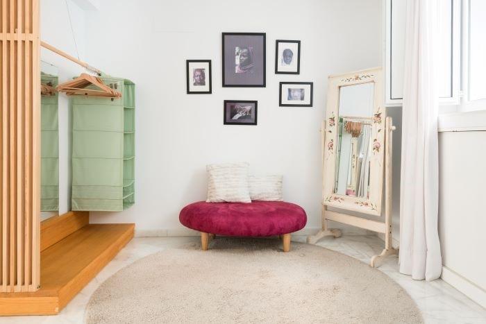 Alojamiento de Airbnb para larga estancia con almacenamiento