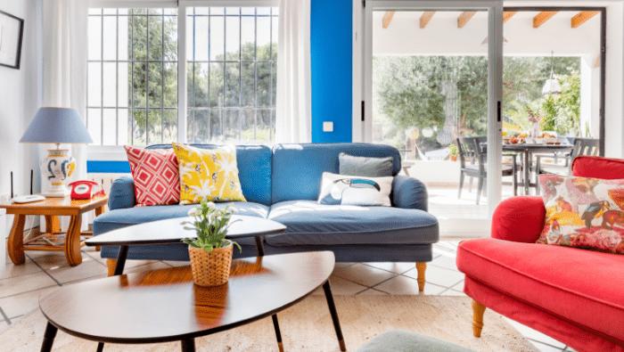 Alojamiento de Airbnb con mucha iluminación ideal para largas estancias