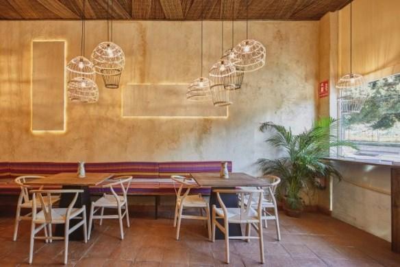 Interior Restaurante Quipu en Almería