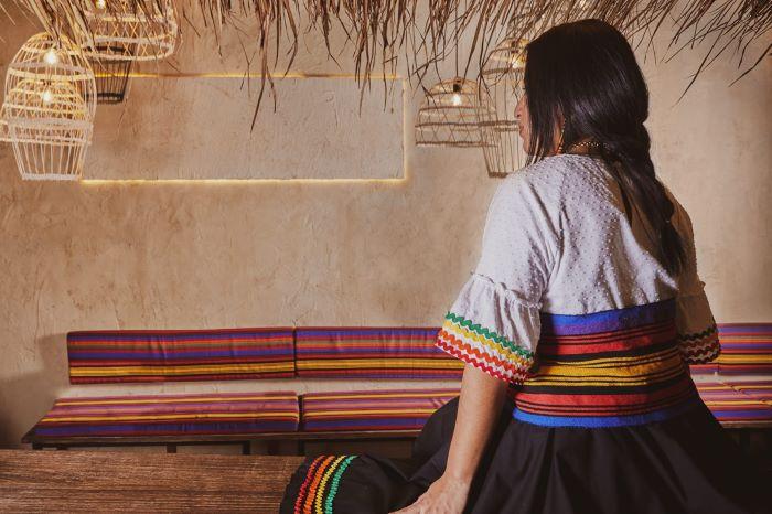 Colores suaves en el Restaurante Quipu de Almería