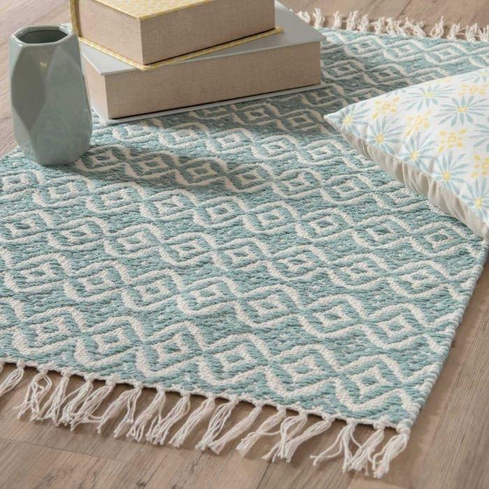 alfombra-de-algodon-azul-con-motivos-Maisons-du-Monde