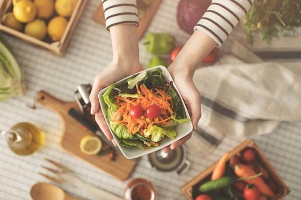 comida saludable ensalada