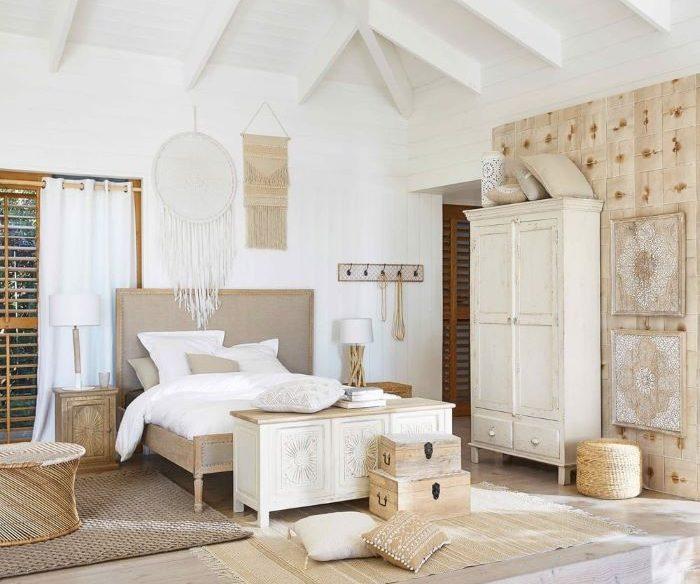 Baúl de estilo exótico para decorar tu dormitorio