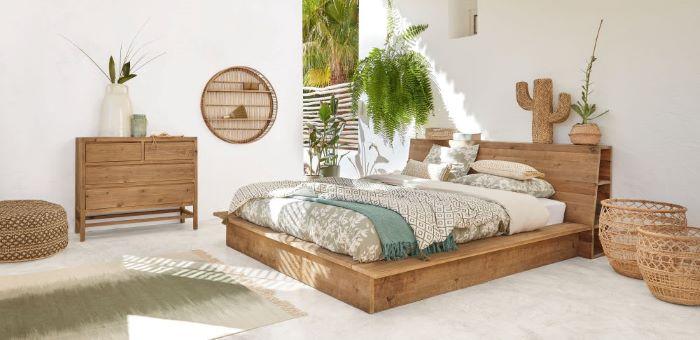 Cama para tu dormitorio de estilo exótico