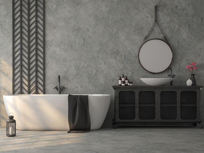 cuarto de baño de estilo industrial ManoMano
