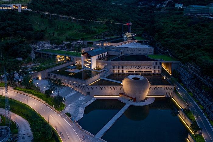 Ganador concurso arquitectónico ArchDaily 2021 vista aérea proyecto