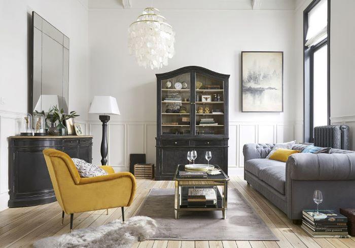 Cómo conseguir una decoración Mid Century o retro con muebles de Maisons du Monde