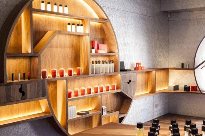 diseño comercial perfumerias