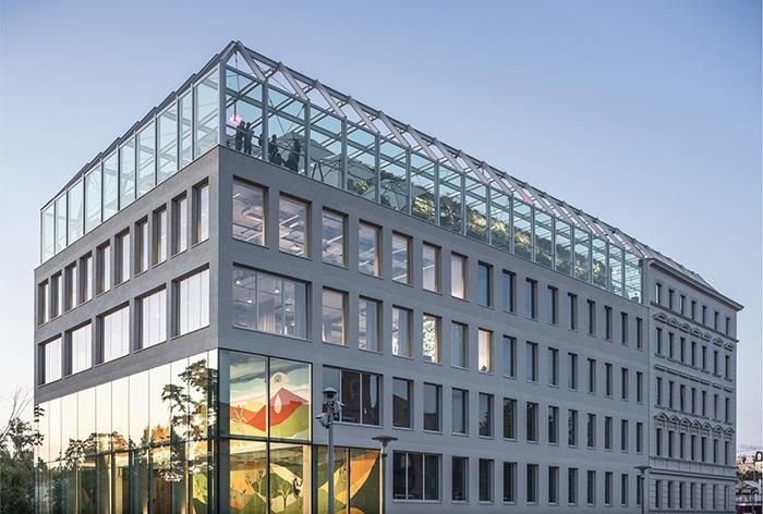Ganador concurso arquitectónico ArchDaily 2021 vista lateral edificio