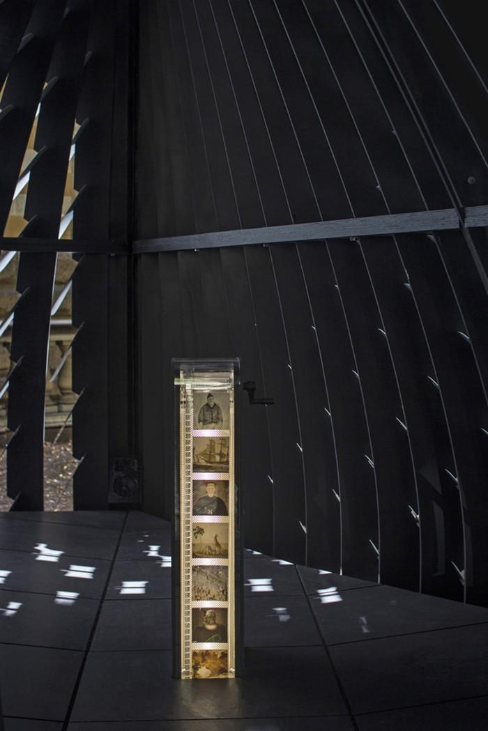 proyecto 80Hz de Thomas Wing-Evans visto desde el interior