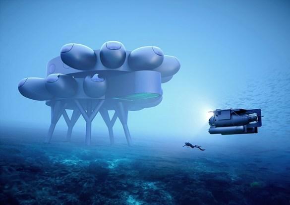 edificio cientifico submarino