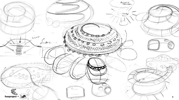 bocetos edificio submarino