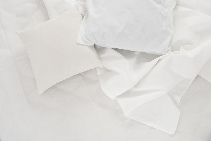 Ropa de cama de materiales transpirables algodón para el verano