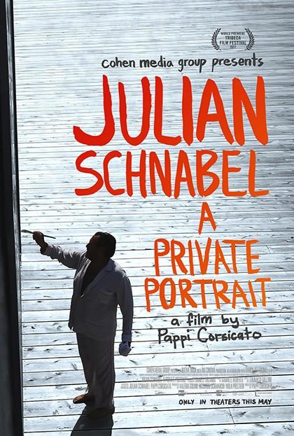 Julian Schnabel portada pelicula