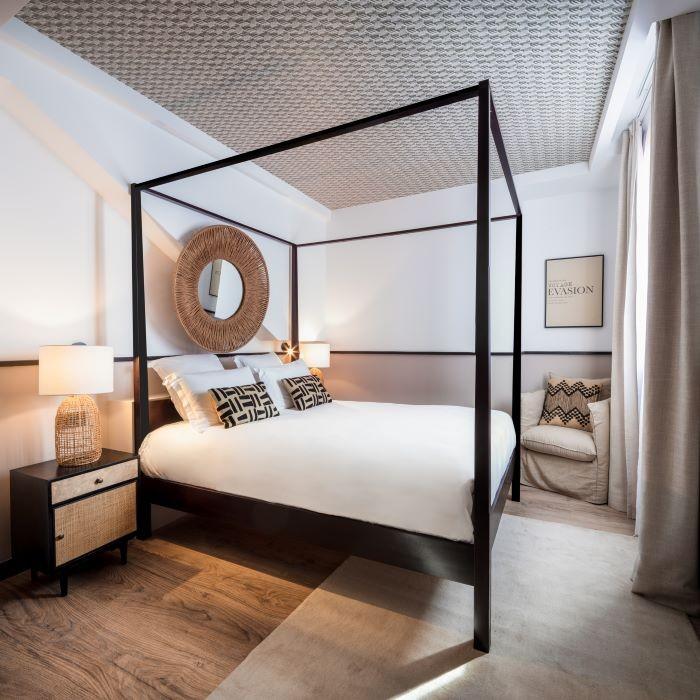 Habitación Saint Martin del hotel suites en la Rochelle