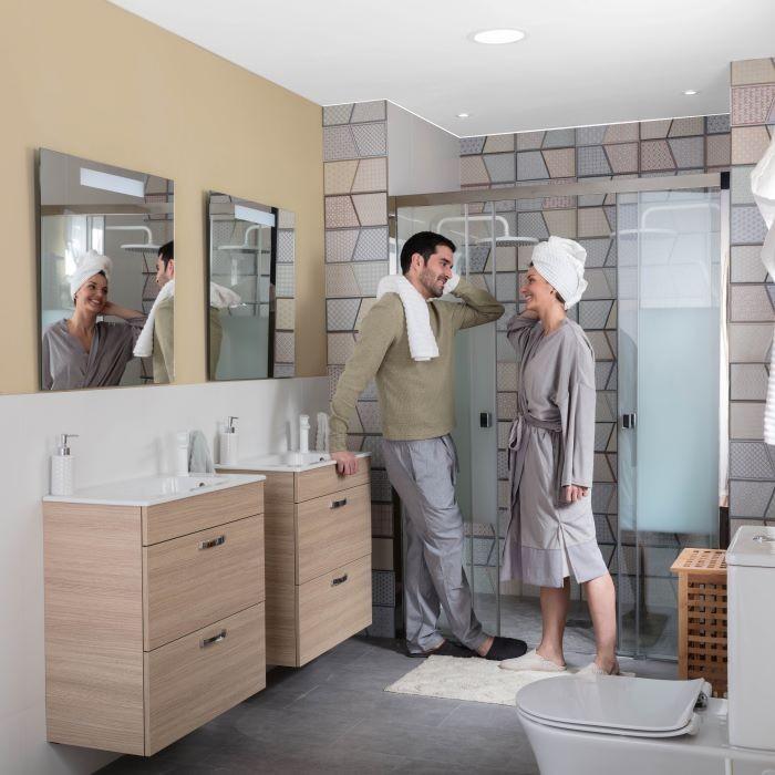 Ahorrar agua en el baño con productos de Leroy Merlin