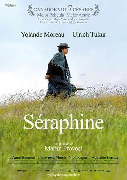 Séraphine portada pelicula