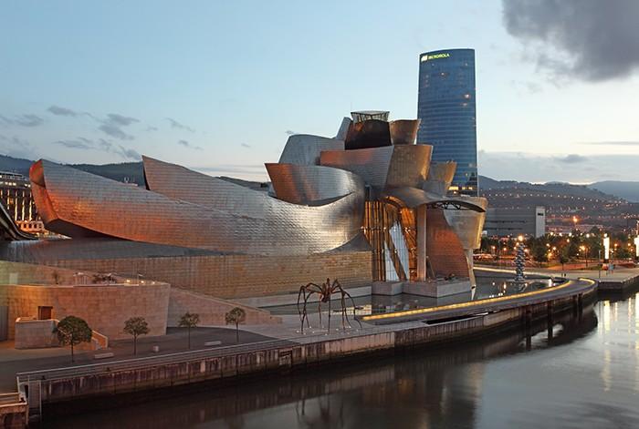 Museo Guggenheim de Bilbao, una obra de arte en si misma