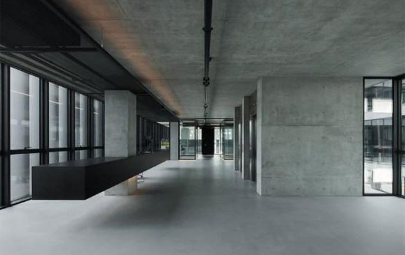 Tipo de pavimento continuo interior llamado terrazo continuo de Bobeton