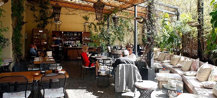 terraza restaurante barcelona