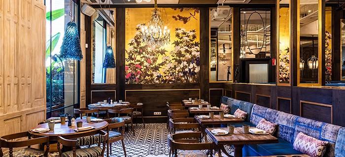 interior restaurante barcelona