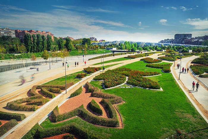Madrid Río el parque del deporte y la cultura de Madrid