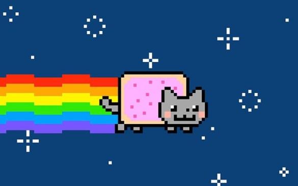 nft gato arcoiris