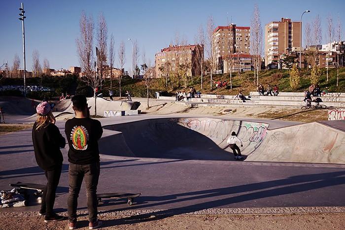 skate park madrid rio