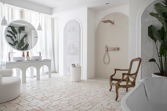 baño arcos ceramica