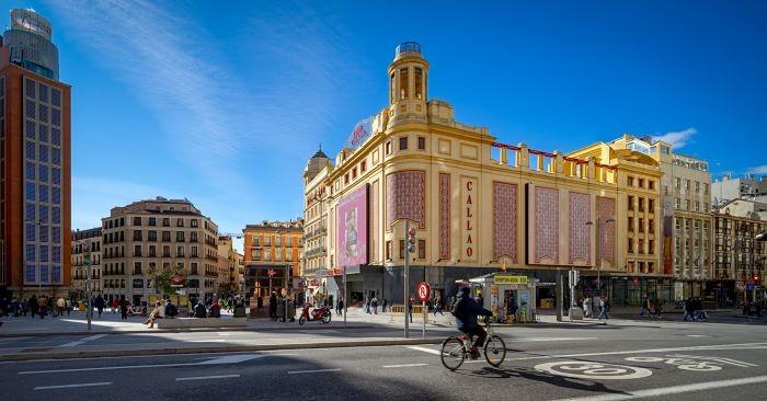 Cine de Callao en Madrid