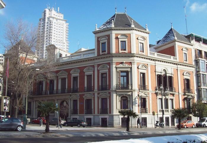 Museo Cerralbo vista exterior edificio