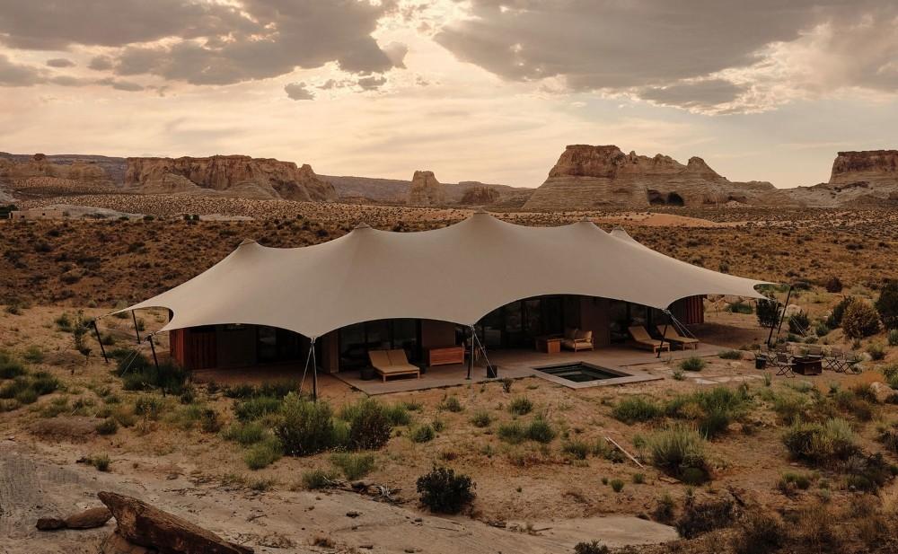 exterior habitacion campamento
