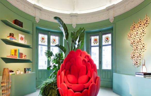 Casa Decor 2021. Espacio Louis Vuitton por Equipo Louis Vuitton. Nacho Uribesalazar