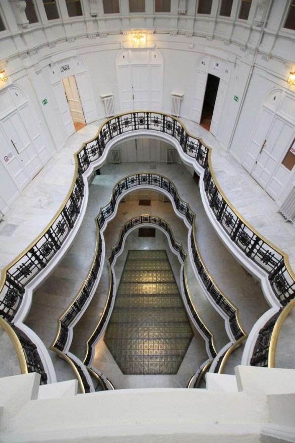 interior edificio comercial madrid